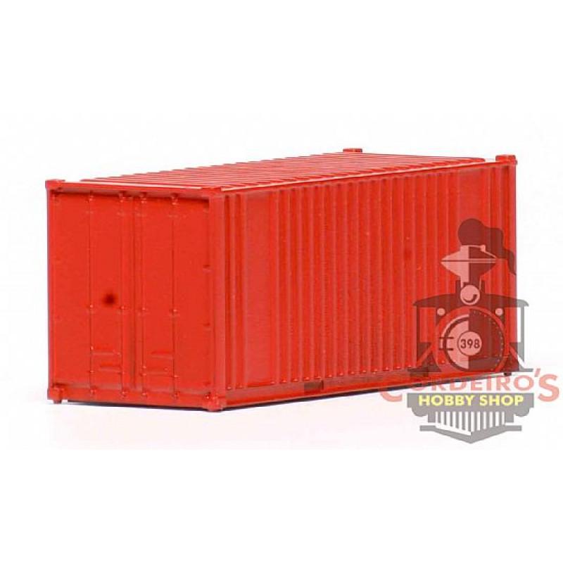 Container 20pés / Vermelho