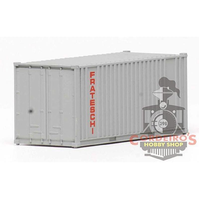 Container 20pés / Cinza Frateschi