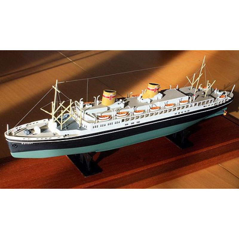 Ocean Liner M/S  PITSUDSKI  1:500