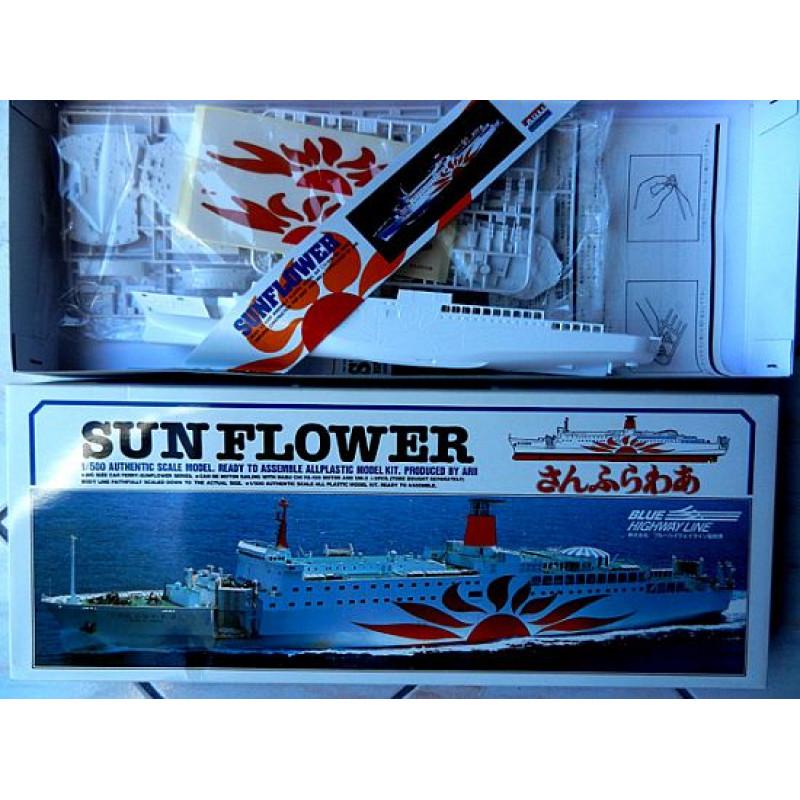 SUN FLOWER 2 Conventional Ferry  (Blue Highway Line Japan)