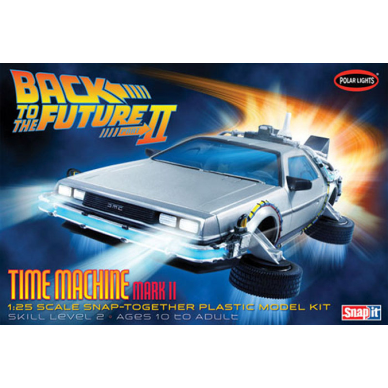 DELOREAN TIME MACHINE MARK II (FILME DE VOLTA PARA FUTURO II)